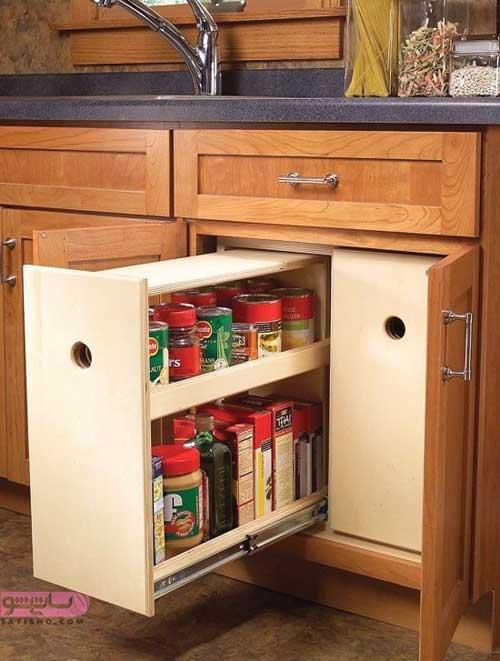طرح های جدید کابینت آشپزخانه