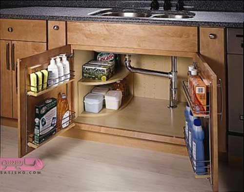 طرح جدید کابینت آشپزخانه 98