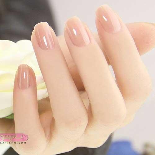 طراحی ناخن زنانه شیک و ساده