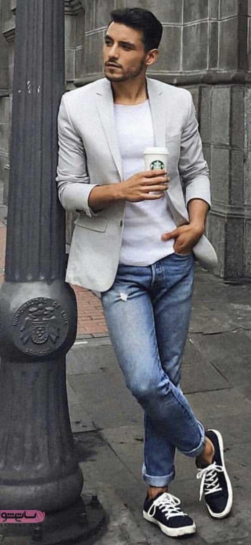 لباس های اسپرت مردانه با شلوار جین