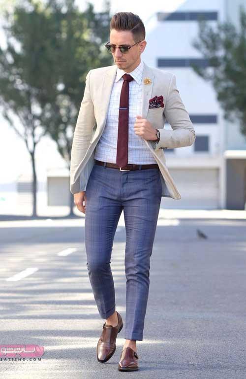 ایده برای ست کردن کت شلوار مردانه