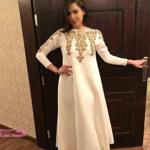 مدل مانتو کار شده برای مراسم عقد