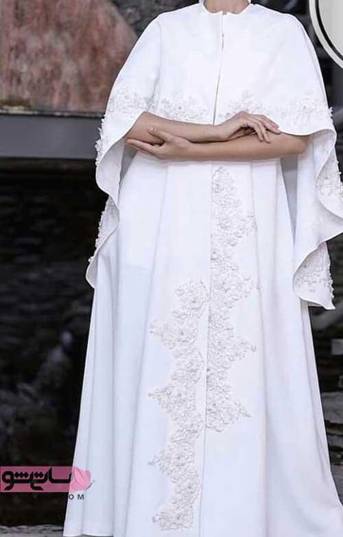 لباس مخصوص مراسم عقد به رنگ سفید