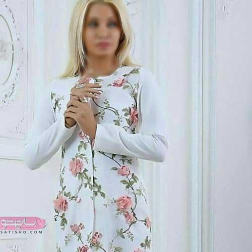 مدل مانتو سفید و جدید برای عقد همراه با گل برجسته