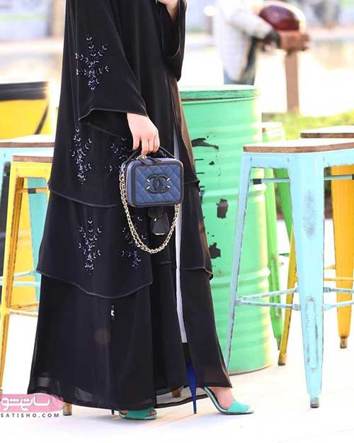 مدل مانتو عبایی ایرانی