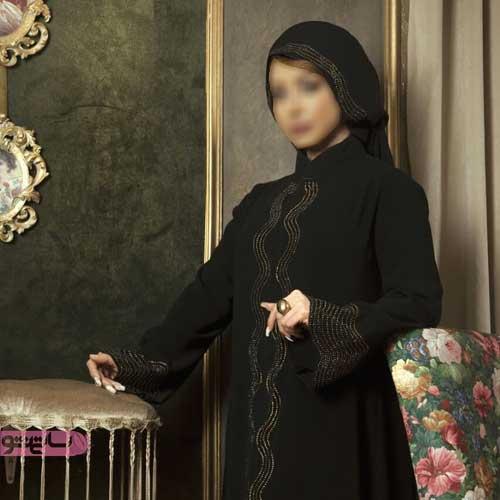 مانتو زنانه بلند عربی