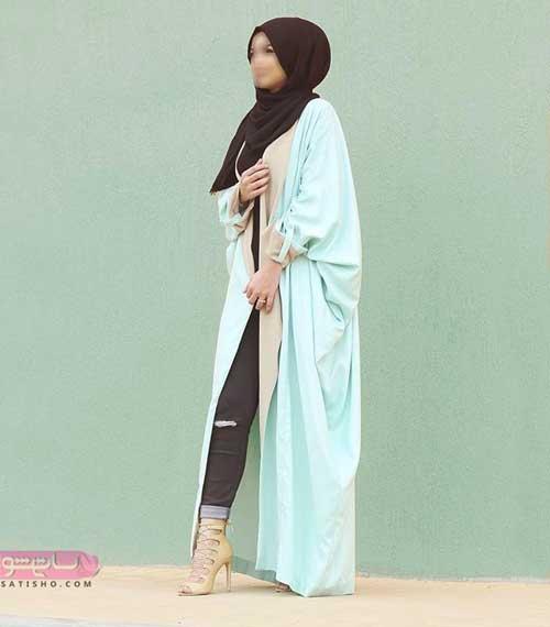 مدل مانتو عبایی عربی 98