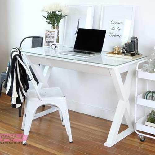 جدیدترین مدل های میز لب تاپ جنس چوب