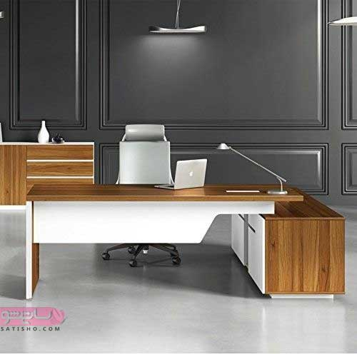 مدل میز مدیریت با طرح های ساده و شیک
