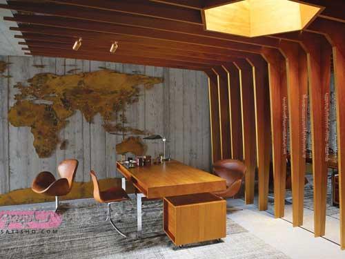 مدل میزهای اداری چوبی