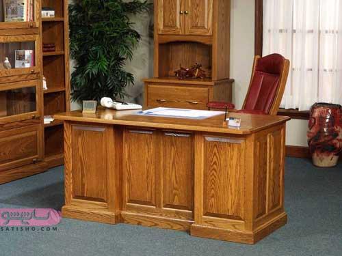 میز مدیریت ساده و کلاسیک