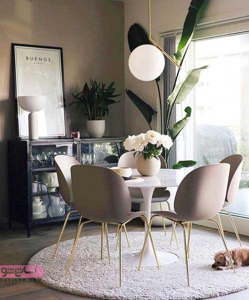 مدل میز مدرن آشپزخانه