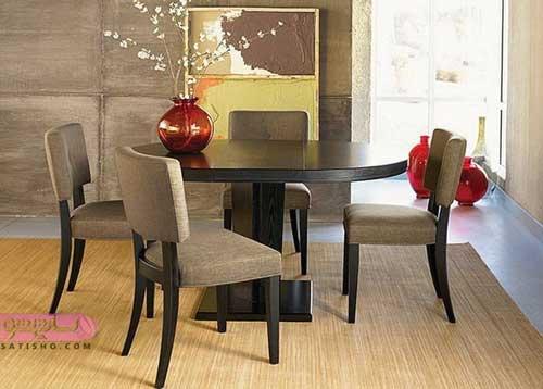 عکس های میز نهارخوری برای خانه های آپارتمانی