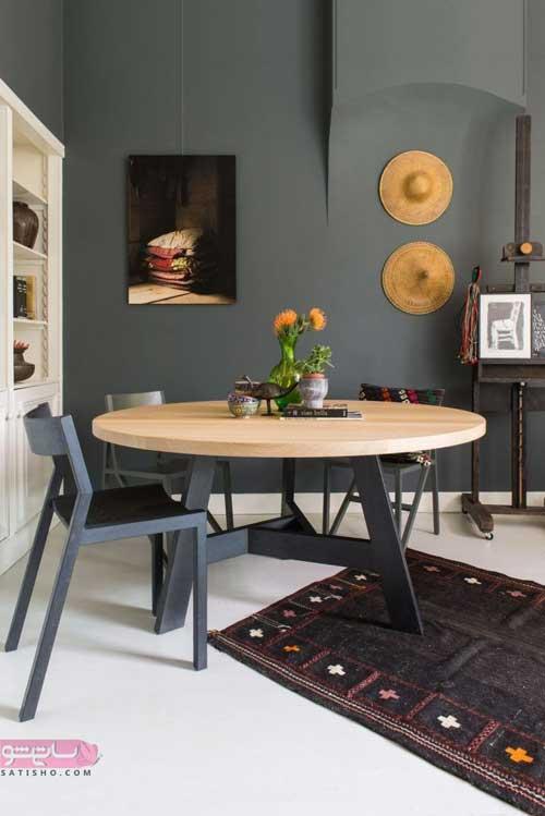 انتخاب میز ناهاخوری برای منازل آپارتمانی