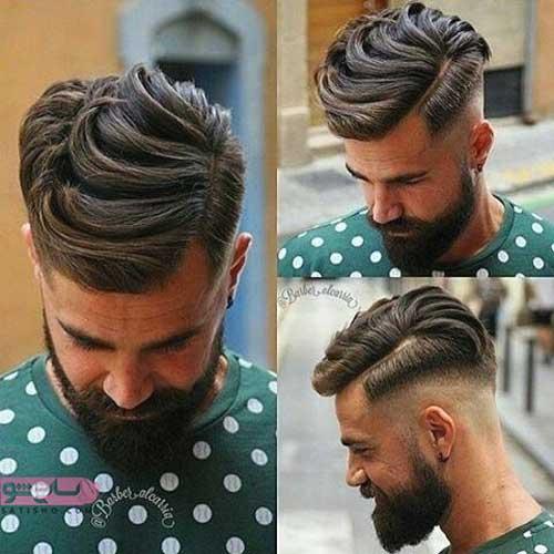 عکس مدل های موی مردانه خامه ای