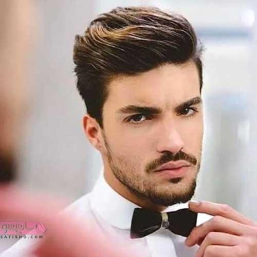 مدل مو کوتاه ساده مردانه برای آقایان شیک پوش