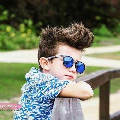 موی کوتاه مردانه برای پسران