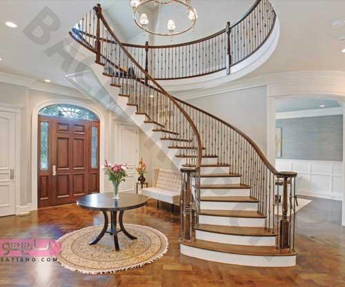 مدل پله دوبلکس برای خانه کوچک