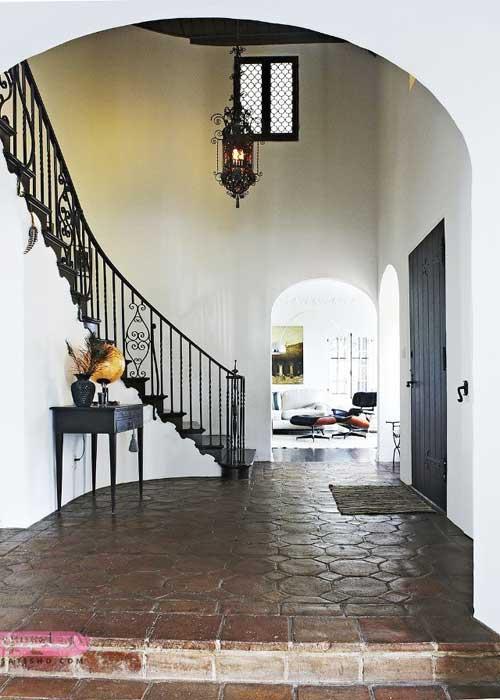 پله ساده به سبک ایتالیایی