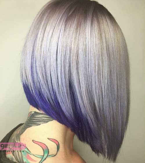 تصاویری خاص از انواع رنگ موی جدید زنانه 98