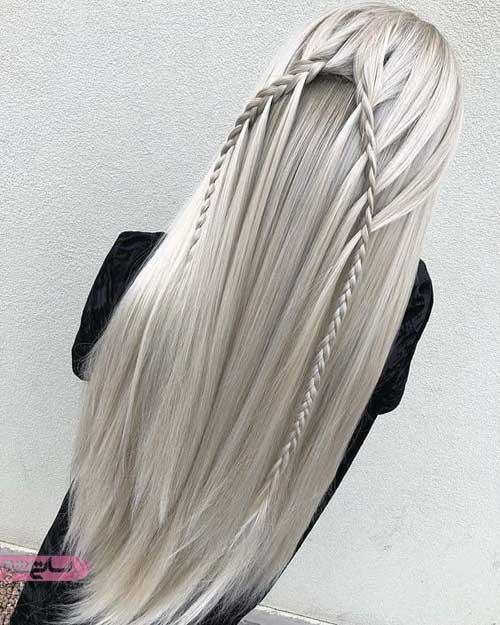 رنگ مو هایلایت جدید تابستانی