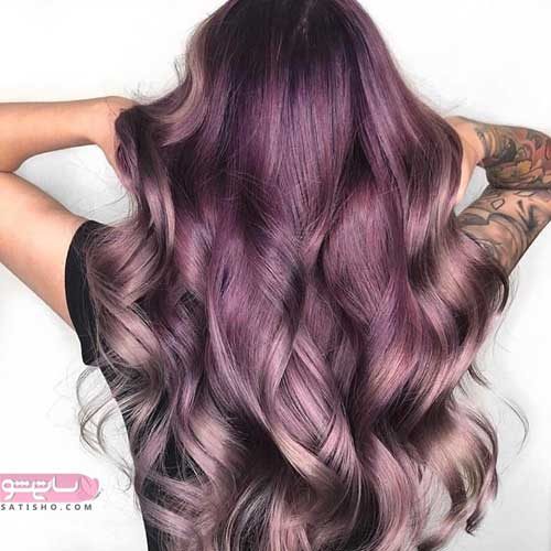 مدرن ترین رنگ موهای جدید 98 و خاص