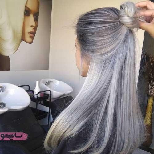 رنگ موی ۹۸ دخترانه
