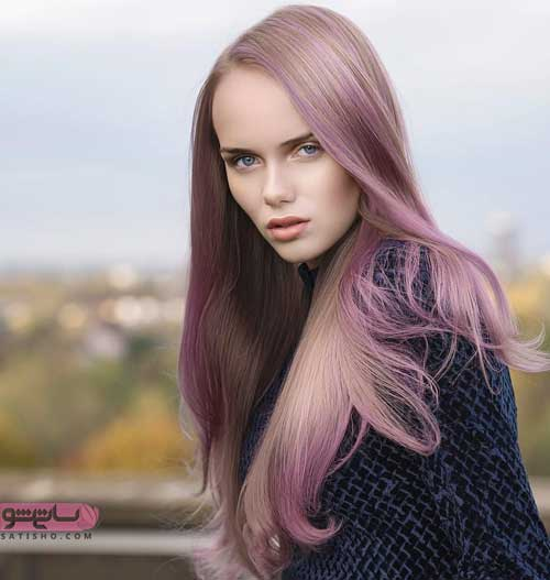 عکس از رنگ موی زنانه ۲۰۱۹