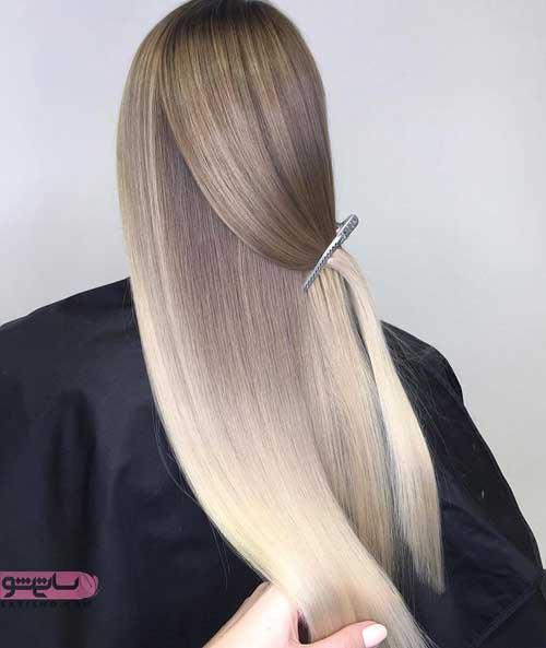 مدلهای متنوع رنگ موی زیبا و شیک