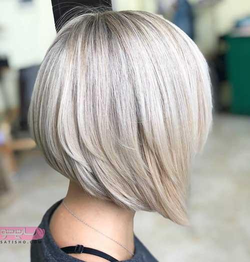 مدل رنگ مو جدید برای موهای کوتاه
