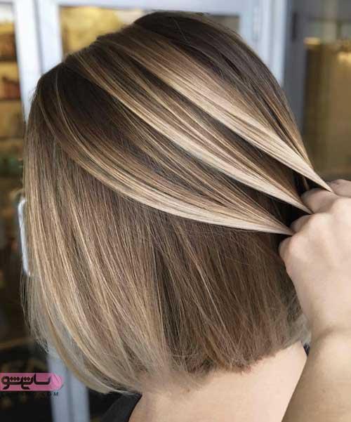 عکس مدل رنگ مو جدید 98