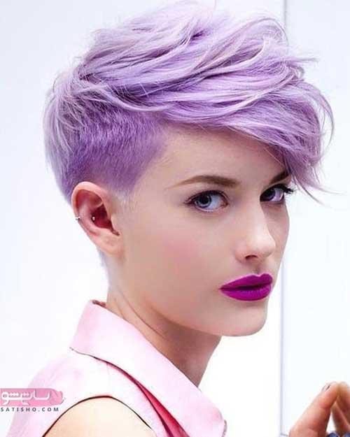 جدیدترین مدل رنگ مو دودی