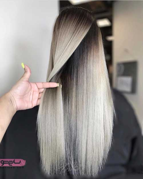 هایلایت های تیره و روشن مو