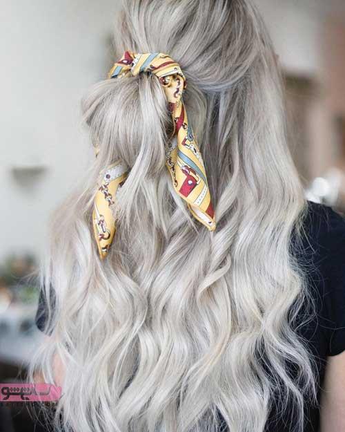 رنگ موی روشن ۹۸