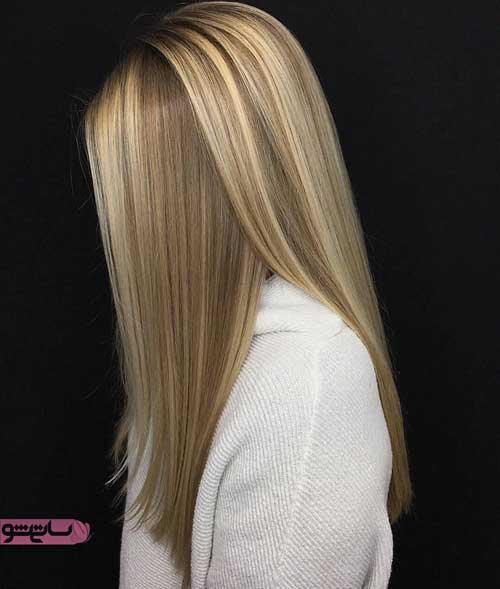 رنگ مو روشن و تیره