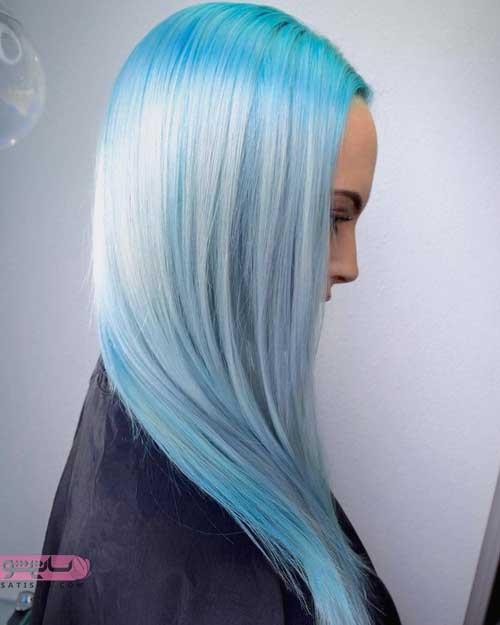 عکس رنگ و مش موهای کوتاه و بلند