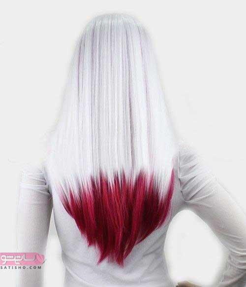 رنگ موی شیک و زیبا در سال ۲۰۱۹