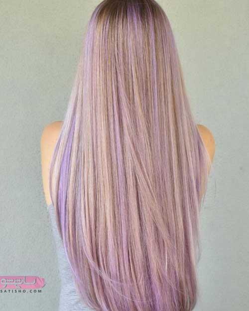رنگ موی زنانه در سال ۹۸