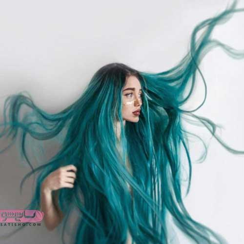 رنگ مو هایلایت تیره و روشن