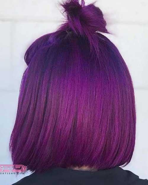 رنگ و مش موهای کوتاه