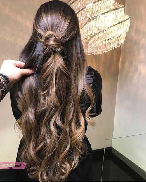 گالری از رنگ موی جدید زنانه 2019 - 98