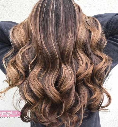 انواع جدیدترین رنگ مو زنانه 98 شیک و مدرن