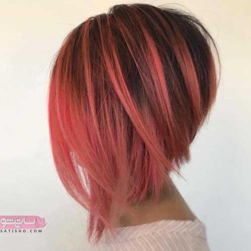 مدل رنگ مو های جدید سال 98 و 2019