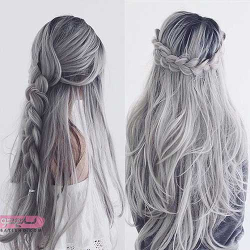 رنگ موی سر جدید زنانه