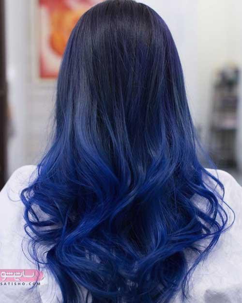 انواع مدل رنگ مو جدید زنانه