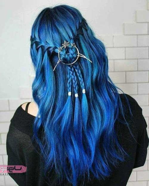 هایلایت بسیار زیبا از رنگ مو جدید