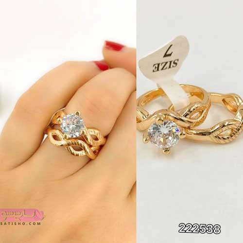 عکس انگشترهای طلای بدل برای نامزدی