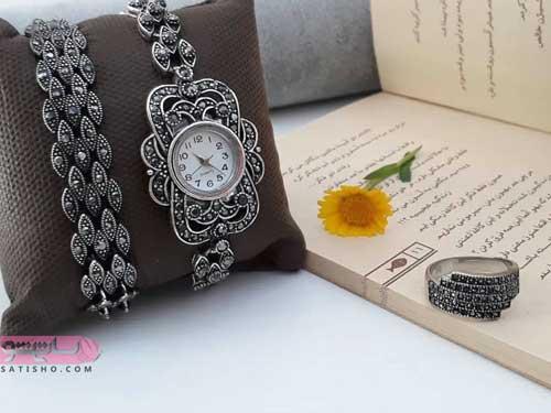 لوکس ترین مدل جواهرات ساعت