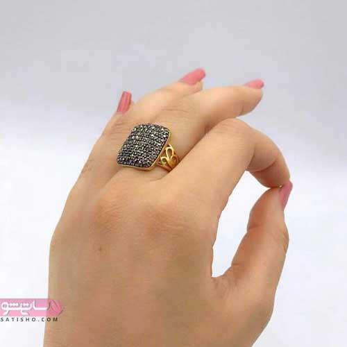 انگشترهای شیک و زیبای دخترانه