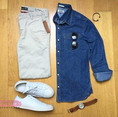 مدل ست های اسپرت با پیراهن جین